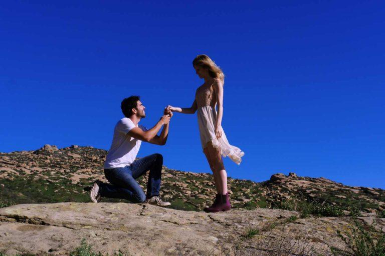 ngagement Shooting California USA Destination Wedding